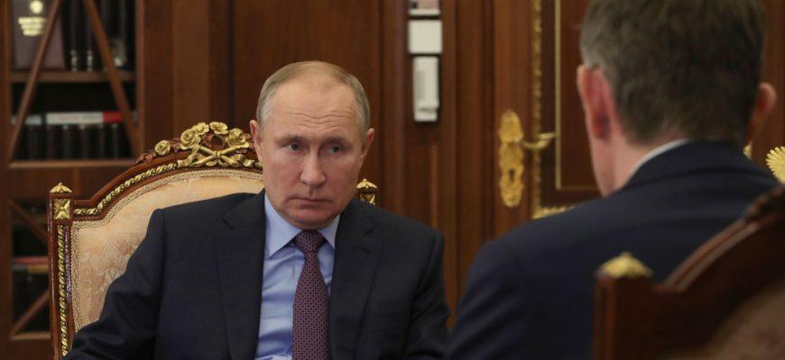 Путин и Решетников: итоги встречи в Кремле