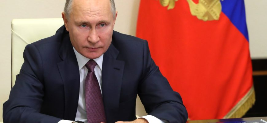 Владимир Путин проводит коллегию МВД