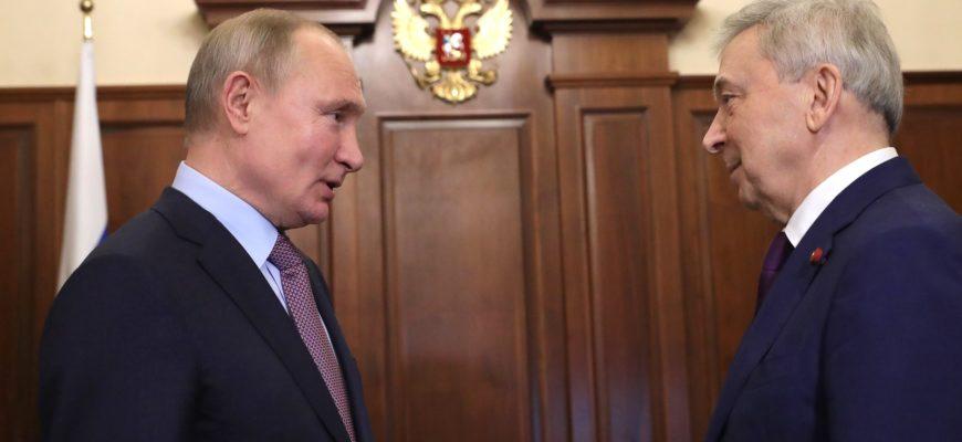 Академик Иван Дедов рассказал Владимиру Путину о центре эндокринологии и борьбе с COVID