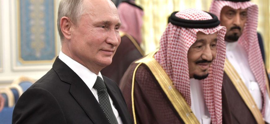 Саудовский Наследный принц позвонил Путину