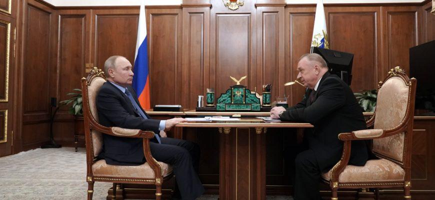 Поддержку бизнеса и международное сотрудничество обсудил глава ТПП с Владимиром Путиным