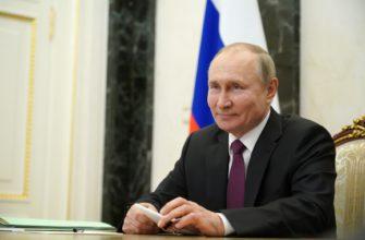 Путин поздравил глав государств с Днём Африки