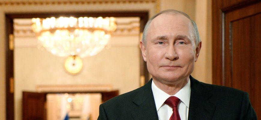 Президент России поздравил женщин с 8 марта