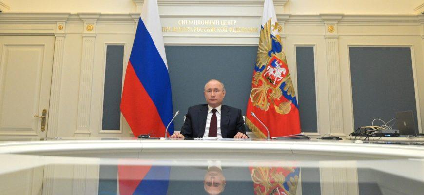 Путин: Россия заинтересована в международном сотрудничестве при решении глобальных проблем