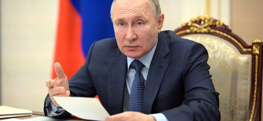 Путин встретился с бизнесменами Франции