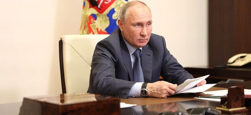 Кремль анонсировал встречу Путина и Байдена