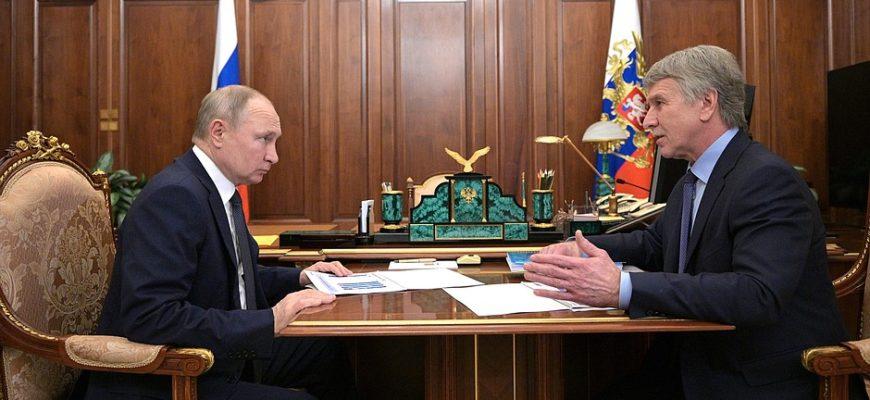Путин встретился с руководством компании НОВАТЭК