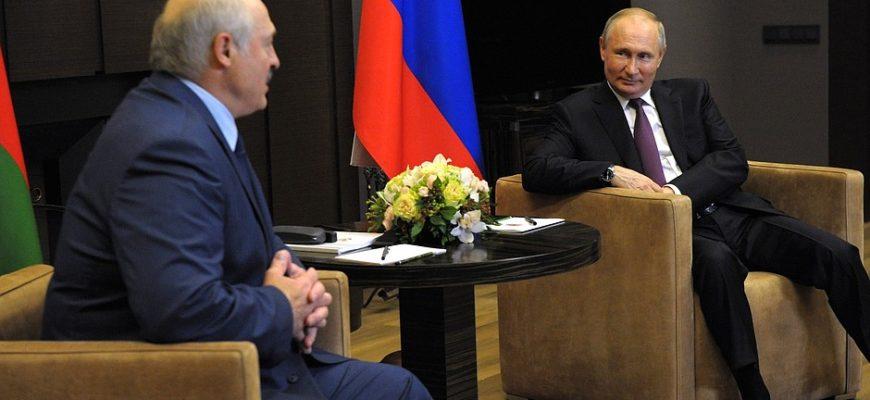 Путин и Лукашенко обсудили экономику