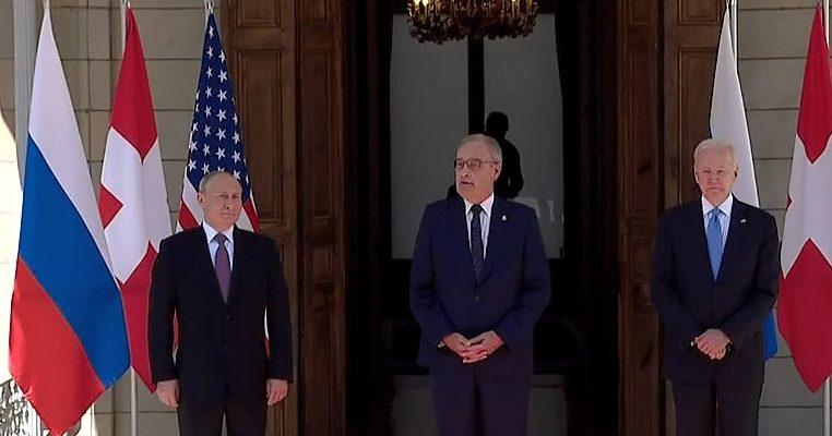 В Женеве Путин и Байден начали переговоры в узком составе