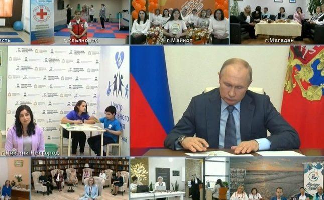 Путин пообещал выдавать соцработникам государственные награды