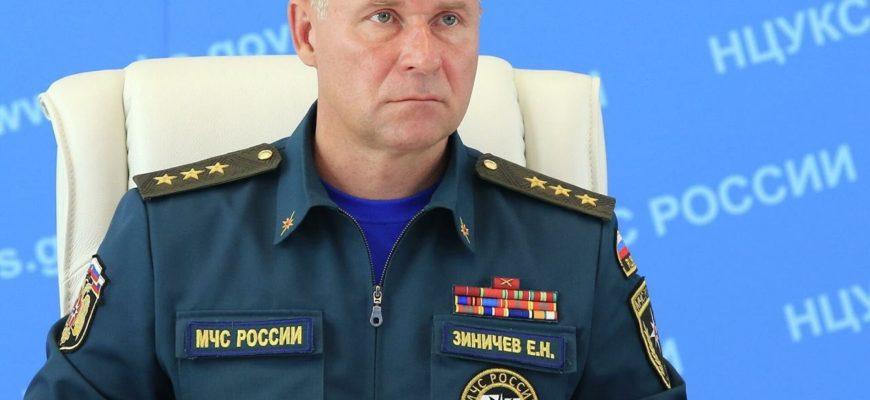 Путин выразил соболезнования в связи с трагической гибелью главы МЧС